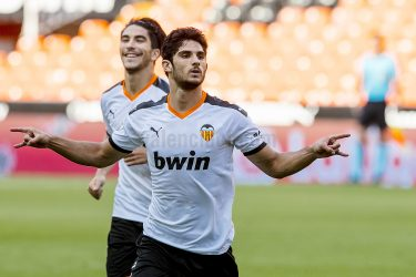 Goncalo Guedes turns on the magic as Valencia storm past Osasuna in 2-0 win