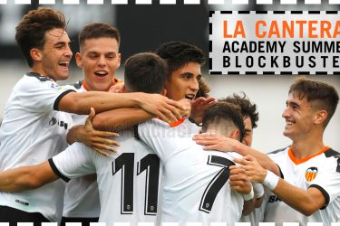 Only 1 per cent from Valencia's academy will reach first team every year