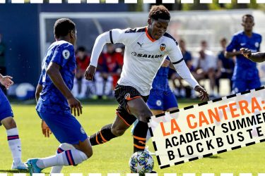 Why did one of football's rising stars leave Arsenal for Valencia?