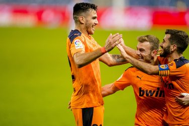Maxi and Gaya the heroes as  Valencia battle to victory over Real Sociedad