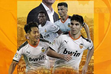 Mas hombres menos nombres, Valencia ready to go for the new season