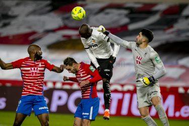 Red mist condemns 9-man Valencia to 1-2 loss against Granada