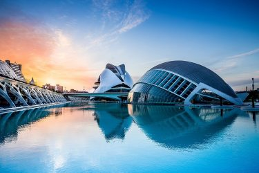 Valencia's iconic City of Arts and Sciences
