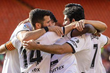 Total domination! Valencia stomp last-place Eibar as fans bear witness