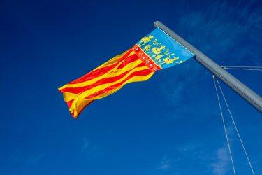 History of the Valencian community flag